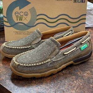 NEW Twisted X Driving Moc Eco Friendly Shoes